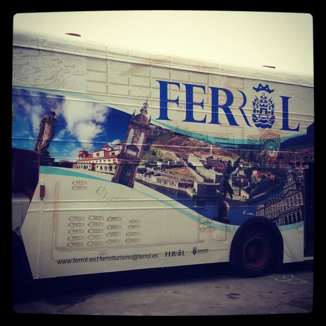 Bus Ferrol Turismo