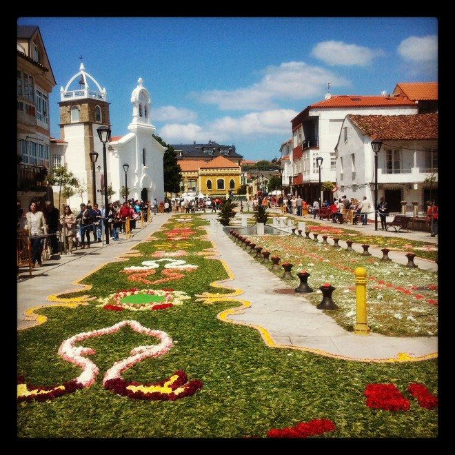 Alfombras florales Corpus Ares