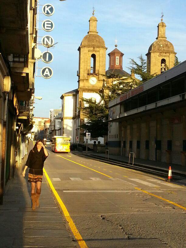 Atardecer en Ferrol